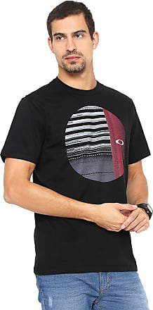 3ccc05481953c Oakley Camiseta Oakley Mod Disrupted Elipse Tee Preta