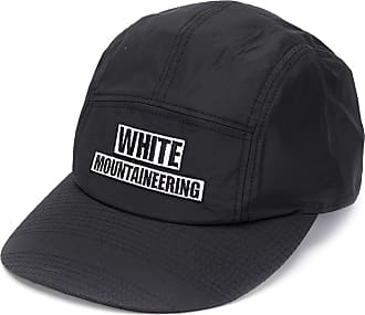White Mountaineering Boné com logo bordado - Preto