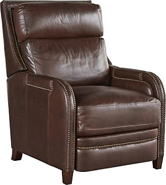 Universal Furniture Montana Leather Recliner with Nailhead Trim Driftwood - 790558P-793