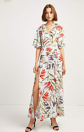 French Connection Cadencia Cari Wrap Maxi Dress