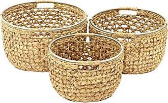 UMA Enterprises Inc. Deco 79 Seagrass Basket S/3 15, 17, 19 W-41132, 11 x 19