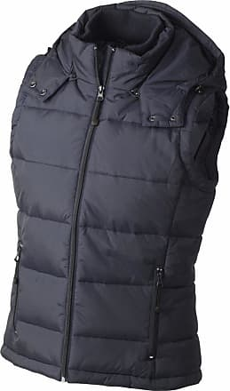 James & Nicholson JN1005 Ladies Puffer Quilted Water Resistant Gilet Navy Size XL