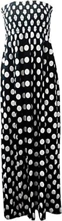 Top Fashion18 Womens Sheering Bandeau Boobtube Gather Printed Animal Strapless Summer Maxi Dress