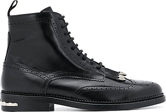 Toga Archives Ankle boot com franjas - Preto