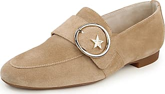 Paul Green Loafers in calf suede leather Paul Green beige