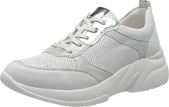 Remonte Womens D4100 Low-Top Sneakers, White (Weiss/Argento/Ice 80), 7.5 UK