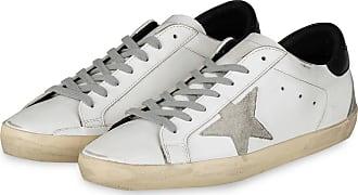 Golden Goose Sneaker SUPERSTAR - WEISS/ GRAU