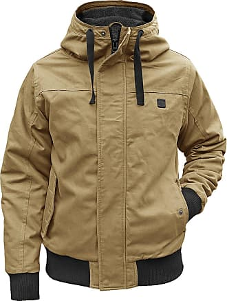 Brandit Winter jacket Grizzly with lining hooded parka - beige - X-Large