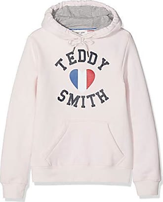 3e56359bd08ab Teddy Smith SOFRENCH JR, Sweat-Shirt Fille, Rose (Clear Pink 791c)