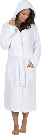 Forever Dreaming Ladies 100% Cotton Soft Terry Bath Robe Dressing Gown