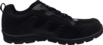 Groundwork GR95 Mens Lightweight Steel Toe Safety Shoes Trainers UK 11 Black/Grey