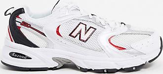 New Balance 530 - Sneaker in Weiß, Rot und Silber