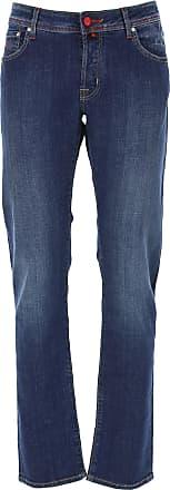 Jacob Cohen Jeans, Bluejeans, Denim Jeans für Herren Günstig im Sale, Blau, Baumwolle, 2019, 46 51 52