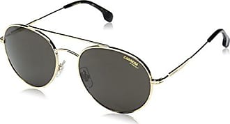 683100308e Carrera Mens Ca131s Aviator Sunglasses, Gold/Gray Blue, 56 mm
