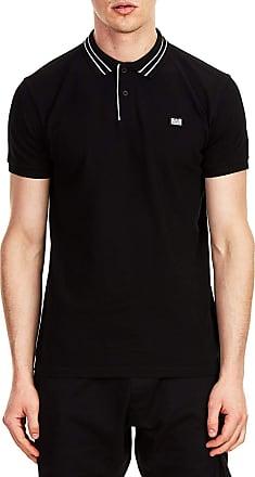 Weekend Offender Frankie Polo Shirt Black - XXL