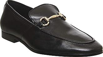 Office Lemming Snaffle Loafer Black Leather - 9 UK
