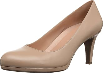 Naturalizer Womens Michelle Dress Pump, Taupe Leather, 8.5 Wide