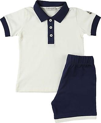 Moncler Baby Sets for Boys On Sale, White, Cotton, 2019, 12 M 12 M 18M 18M 24M 2Y 3Y 6M 6M 9M 9M