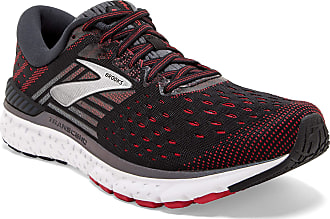 Brooks Mens Transcend 6 Running Shoes, Black (Black/Ebony/Red 021), 10.5 UK