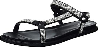 Vince Camuto Womens Arabelem Flat Sandal, Black, 5.5 UK