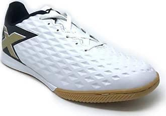 OXN Chuteira Futsal Oxn Genio Iii Branco/preto/dourado