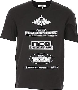 Alexander McQueen T-Shirts für Herren, TShirts Günstig im Outlet Sale, Schwarz, Baumwolle, 2019, L M S