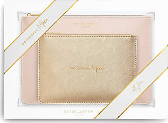 Katie Loxton Perfect Pouch Gift Set | Wonderful Mum | Oyster Pink