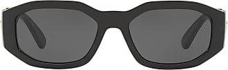 Versace Óculos de sol Hexad Signature - Preto