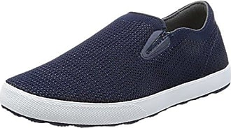 Freewaters Mens Sky Slip-On Knit Shoe, Navy Knit, 8 M US