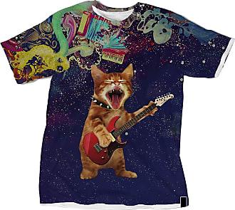 NA Cat Playing Guitar 3D Shirt