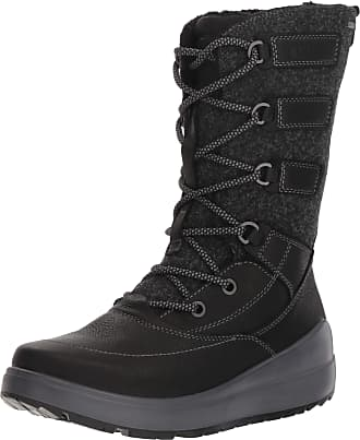 Ecco Womens 834633 High Boots, Black (Black 2001), 7.5 UK