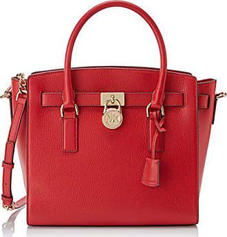 64085df9e83 Michael Kors Hamilton, Cabas femme, Rouge (Bright Red), 15.2x26.