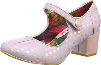 Irregular Choice Womens Dotty for You Mary Janes, Pink (Pink C), 7.5 (41 EU)