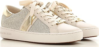 Michael Kors Sneakers for Women On Sale, Pale Gold, Leather, 2019, 2.5 4.5
