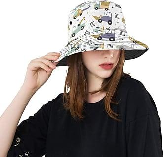 NA Outdoor Sun Hat Cartoon Animation Retro Toy Tractor Summer Unisex Fishing Sun Top Bucket Hats for Teens Women Fisherman Cap Outdoor Sport Toddler Sun