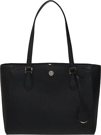 Tory Burch Robinson Tote Bag Womens Black