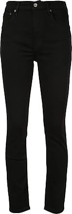 Reformation Calça jeans cintura alta skinny - Preto
