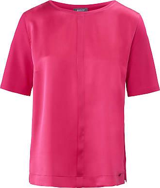Basler Round neck top short sleeves Basler bright pink