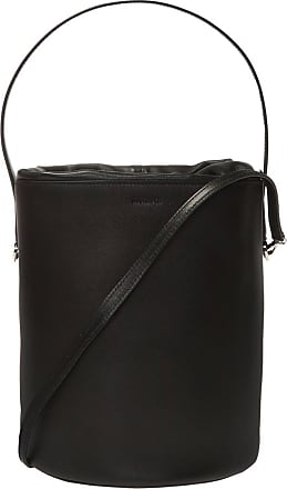 Jil Sander Branded Shoulder Bag Womens Black