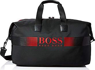 df7002872c68 HUGO BOSS BOSS Green Mens Pixel Nylon Holdall Weekender Bag