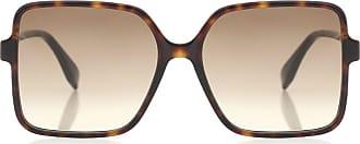 Fendi FF square acetate sunglasses