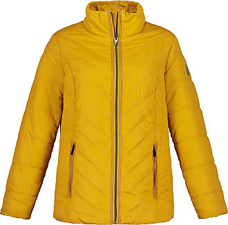 Ulla Popken Womens Plus Size Lightweight Quilted Jacket Mustard 32/34 723520 63-58+