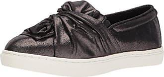 Yellow Box Womens Wendie Sneaker, Black Shimmer, 6.5 Medium US