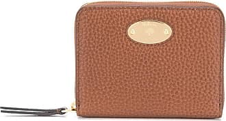 Mulberry small logo plaque wallet - Marrom