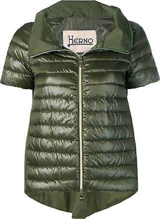 Herno short sleeve padded jacket - Green