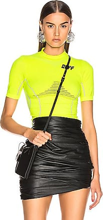 Off-white Athletic Short Sleeve T Shirt in Yellow