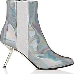 06155380721d Alchimia Di Ballin Womens Hedra Holographic Leather Ankle Boots Size 6