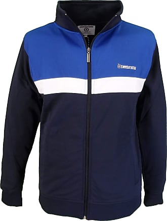 Lambretta Retro Track Top/Jacket (XXX Large, Navy/White/Sky)