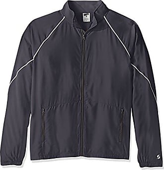 Soffe Mens Adlt Warm Up Jacket, Gunmetal Medium