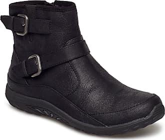 Skechers Womens Reggae Fest - Urban Dread Shoes Boots Ankle Boots Ankle Boots Flat Heel Svart Skechers